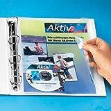 10x Foldersys Dokumententaschen (multiperforado, tamao A4, PP, vertikal, 10Stück, transpar