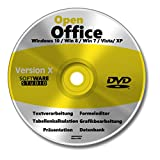 Open Office Paket 2018 Vollversion auf CD DVD Schreibprogramm, Textprogramm