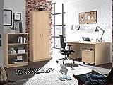 möbelando Büro-Set Bürokombi Büroeinrichtung Büromöbel Büroprogramm Olli II (4-teilig)