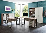 Büromöbel komplett Set Bürokombination Office Edition in Sandeiche - Made in Germany - (Set 1)